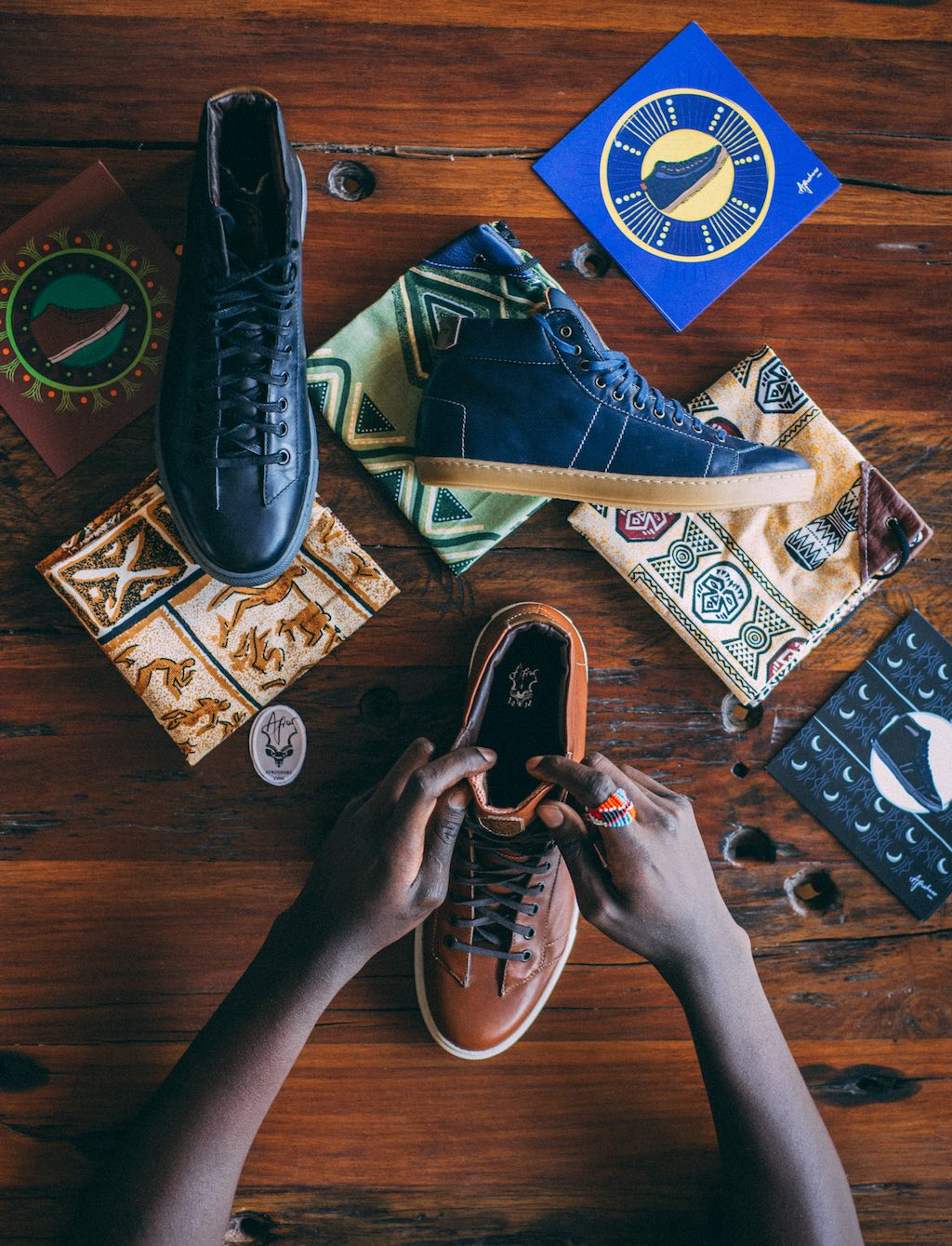 Emo Rugene - Afros - Shoes Made In Africa
