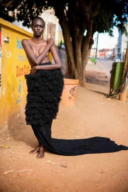 TPS FRO SKIRT by Lamula Anderson. Photo by ODH Photography