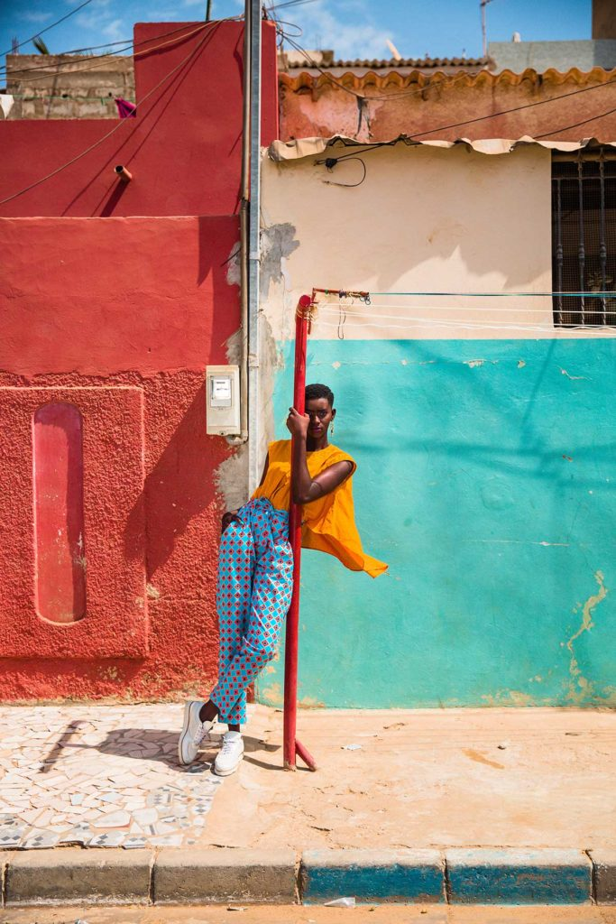 Outfit: Bélya, Shoes: Nio Far by Milcos - © Aldi Diasse