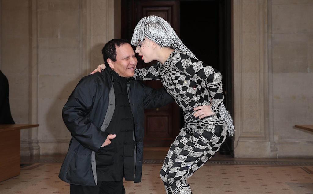Azzedine-Alaia-with-Lady-Gaga