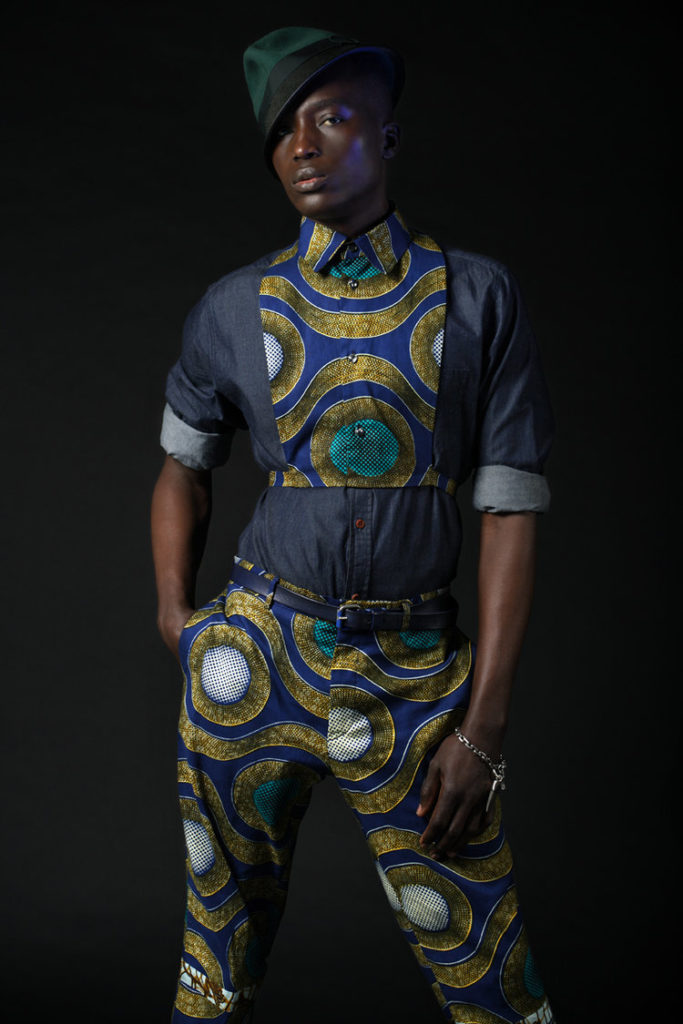 BLUE - Autumn:Winter 2016 Menswear Collection Soboye 1
