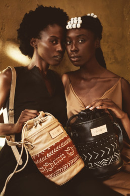 two women and valoyi bags
