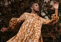 Award-winning Pan-African womenswear brand, Ophelia Crossland.